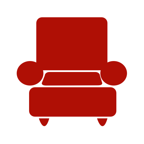 Couch red